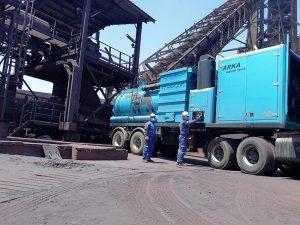 نظافت صنعتی کارخانه مس