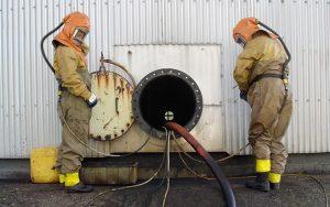 خدمات پاکسازی مخازن، حوضچه ها و کانال ها