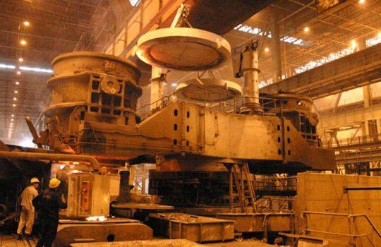 نظافت صنعتی کارخانه فولاد