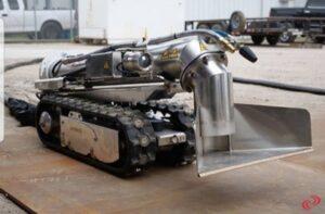 ربات مکنده ضد انفجار