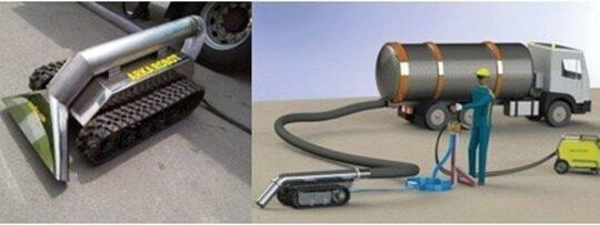 ربات های مکنده ضد انفجار